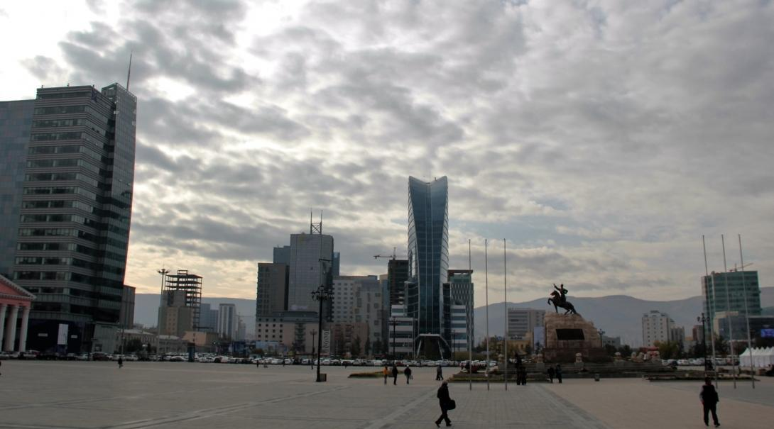 A scenic view of Ulaanbaatar, where our Business internship in Mongolia is based.
